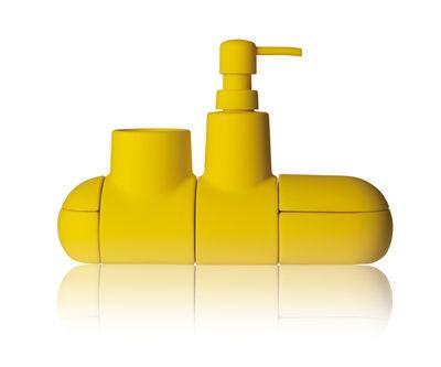 set d 39 accessoires submarine pour salle de bains jaune seletti. Black Bedroom Furniture Sets. Home Design Ideas