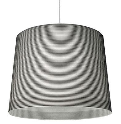 Lighting - Suspensions - Giga-Lite Pendant by Foscarini - Black - Carbon, Fibreglass