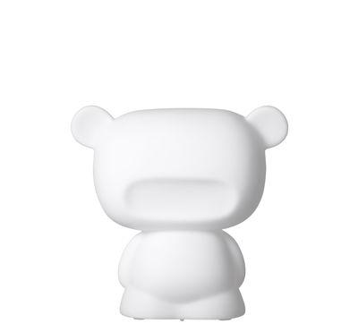 Veilleuse Baby Pure H 14 cm / LED - Slide blanc en matière plastique