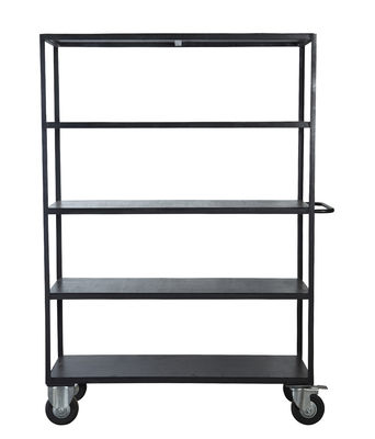 etag re trolley m tal bois l 130 x h 175 cm noir house doctor. Black Bedroom Furniture Sets. Home Design Ideas