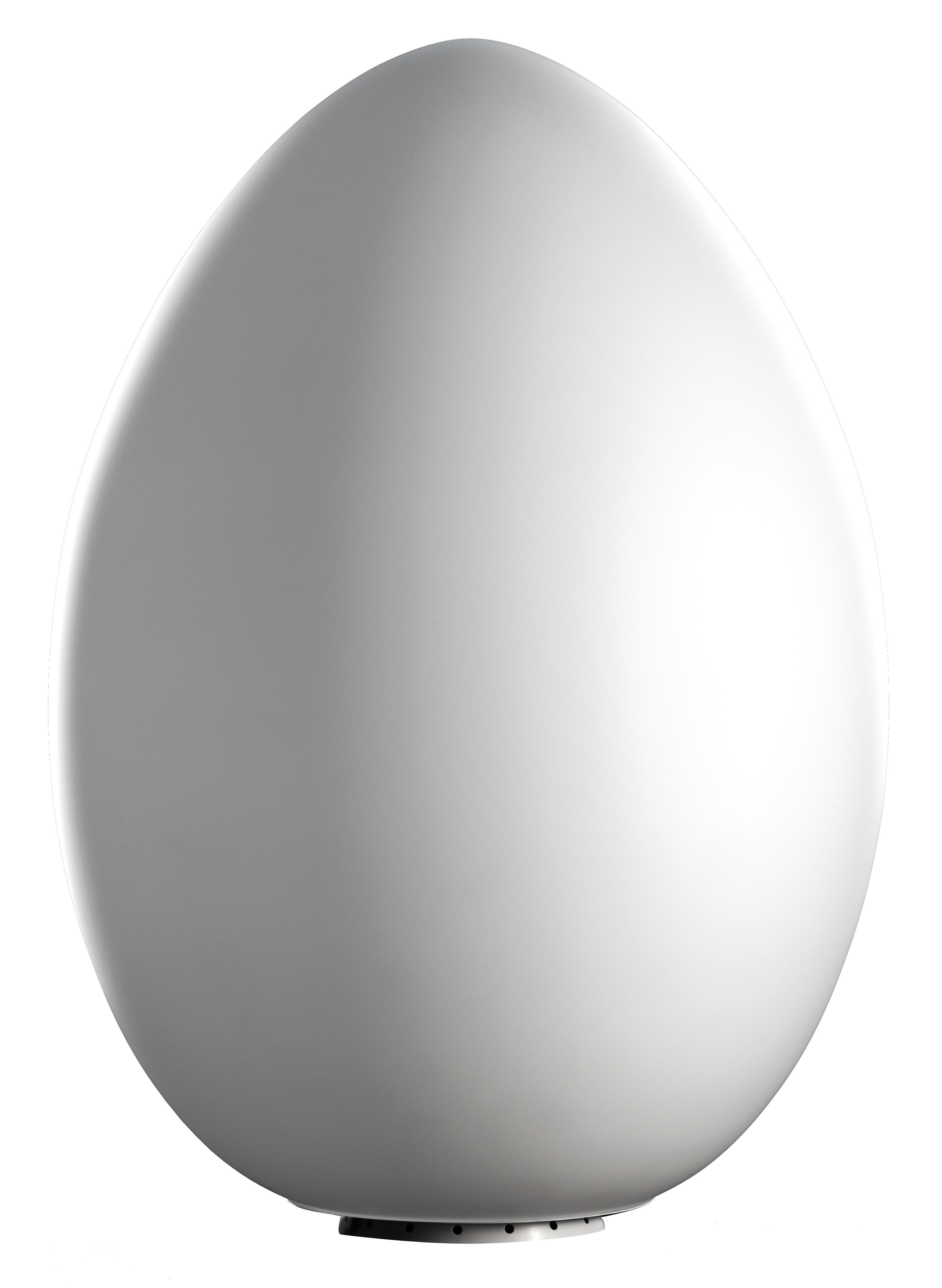 Scopri lampada da pavimento uovo outdoor con base per for Lampada uovo fontana arte