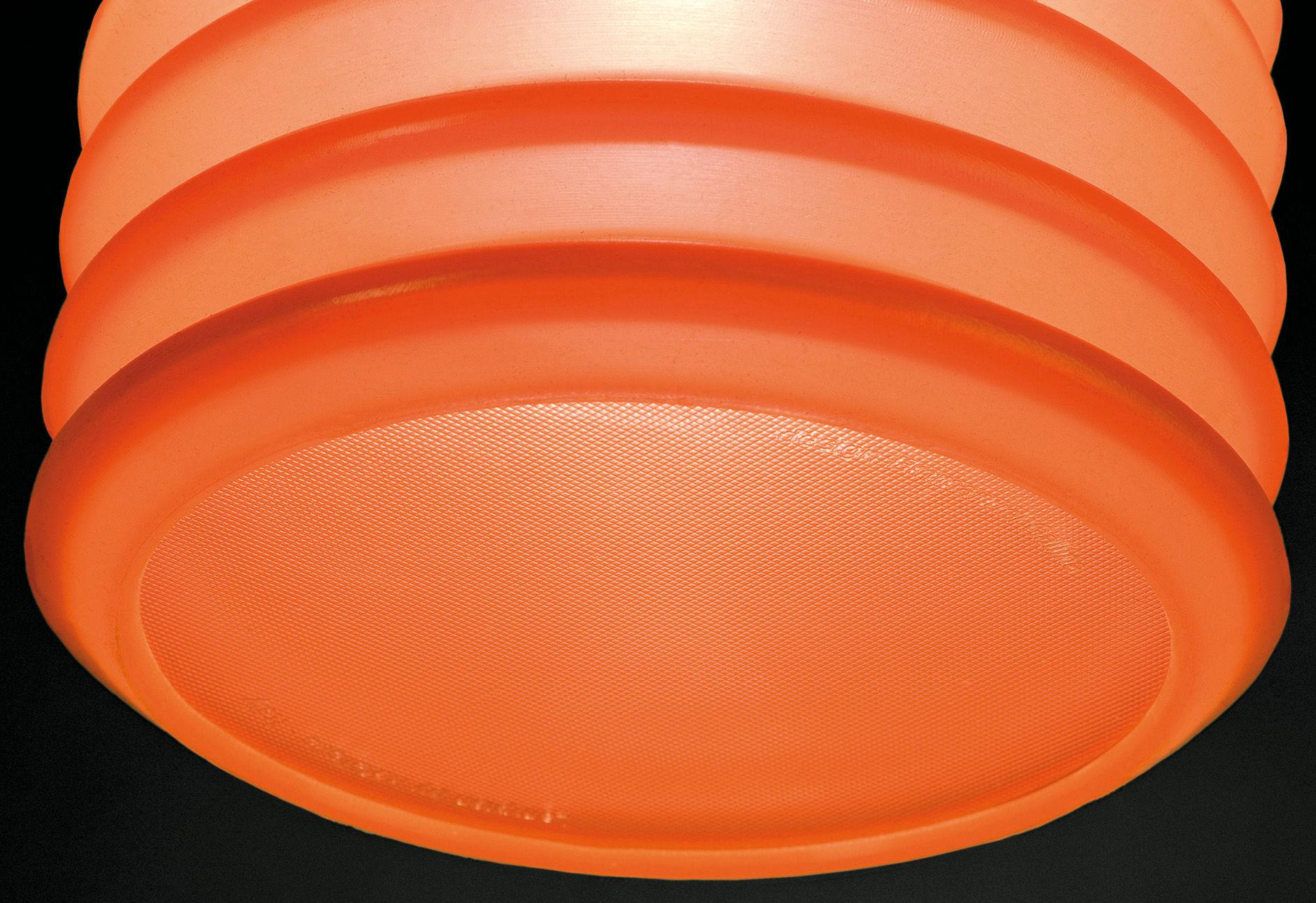 Lampe de table lampion poser ou supendre pour l for Table exterieur orange