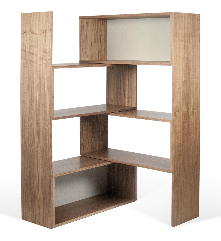 biblioth que extensible slide pivotante l 104 168 cm. Black Bedroom Furniture Sets. Home Design Ideas