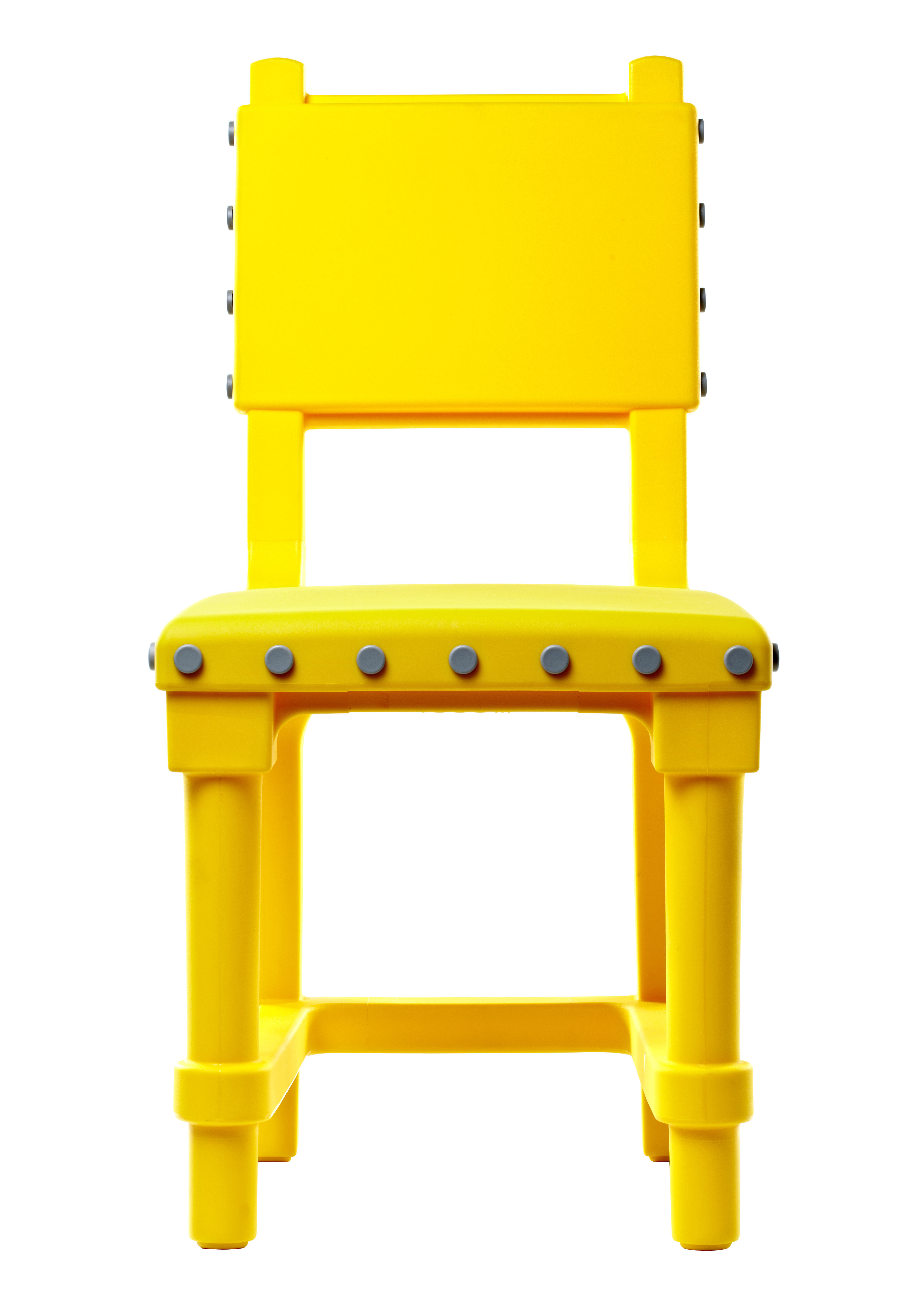 chaise gothic chair plastique jaune boutons gris clair moooi. Black Bedroom Furniture Sets. Home Design Ideas