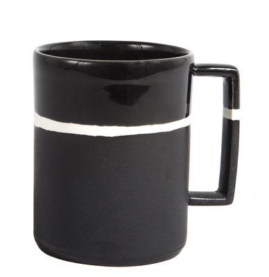 Mug Sicilia - Maison Sarah Lavoine blanc,noir en céramique