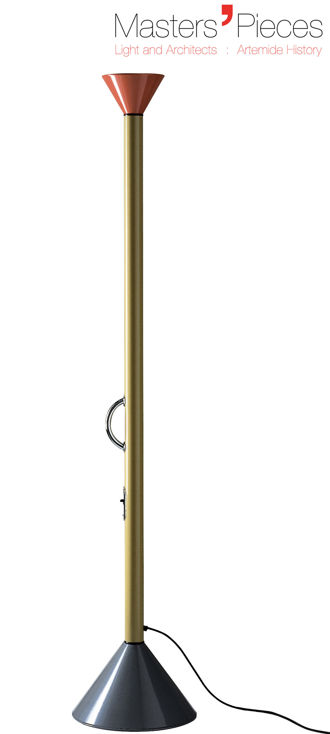 Masters39 pieces callimaco led floor lamp multicolored by for Floor lamp masters