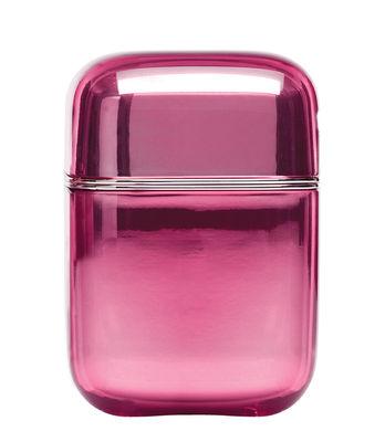 Bougie parfumée Oyster / Kartell Frangrances - H 19 cm - Kartell rose en matière plastique