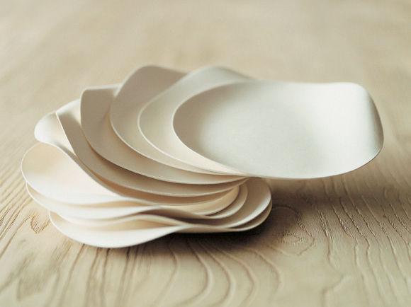 Scopri piatto usa e getta maru set di 12 piatti piani for Nuovi piani domestici