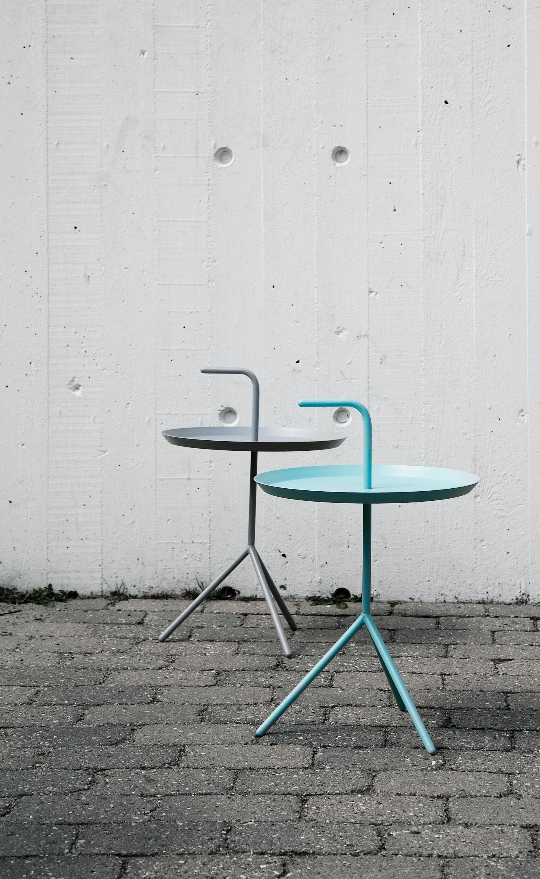 Table basse don 39 t leave me 38 cm vert d 39 eau hay for Table basse scandinave vert d eau
