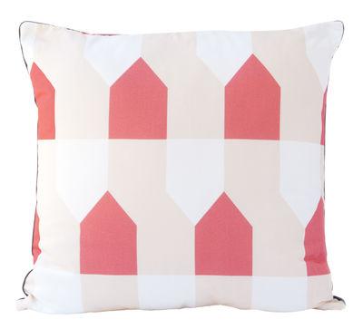 Déco - Coussins - Coussin Octave / 50 x 50 cm - Hartô - Corail - Coton, Polyester