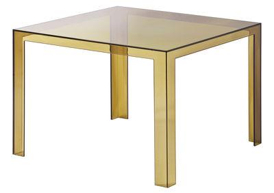Invisible Tisch 72 cm - Kartell - Amber