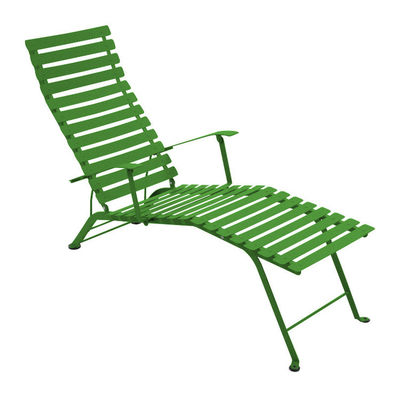chaise longue bistro vert prairie fermob. Black Bedroom Furniture Sets. Home Design Ideas