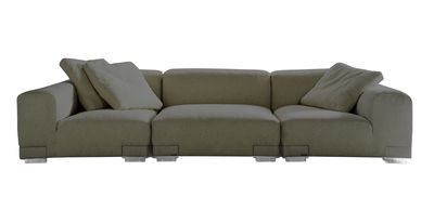 Plastics Duo Sofa Komposition Nr. 3 - Kartell - Grau