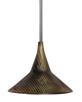 Luminaire - Suspensions - Suspension Unterlinden / LED - Métal vieilli - Artemide - Laiton vieilli - Laiton