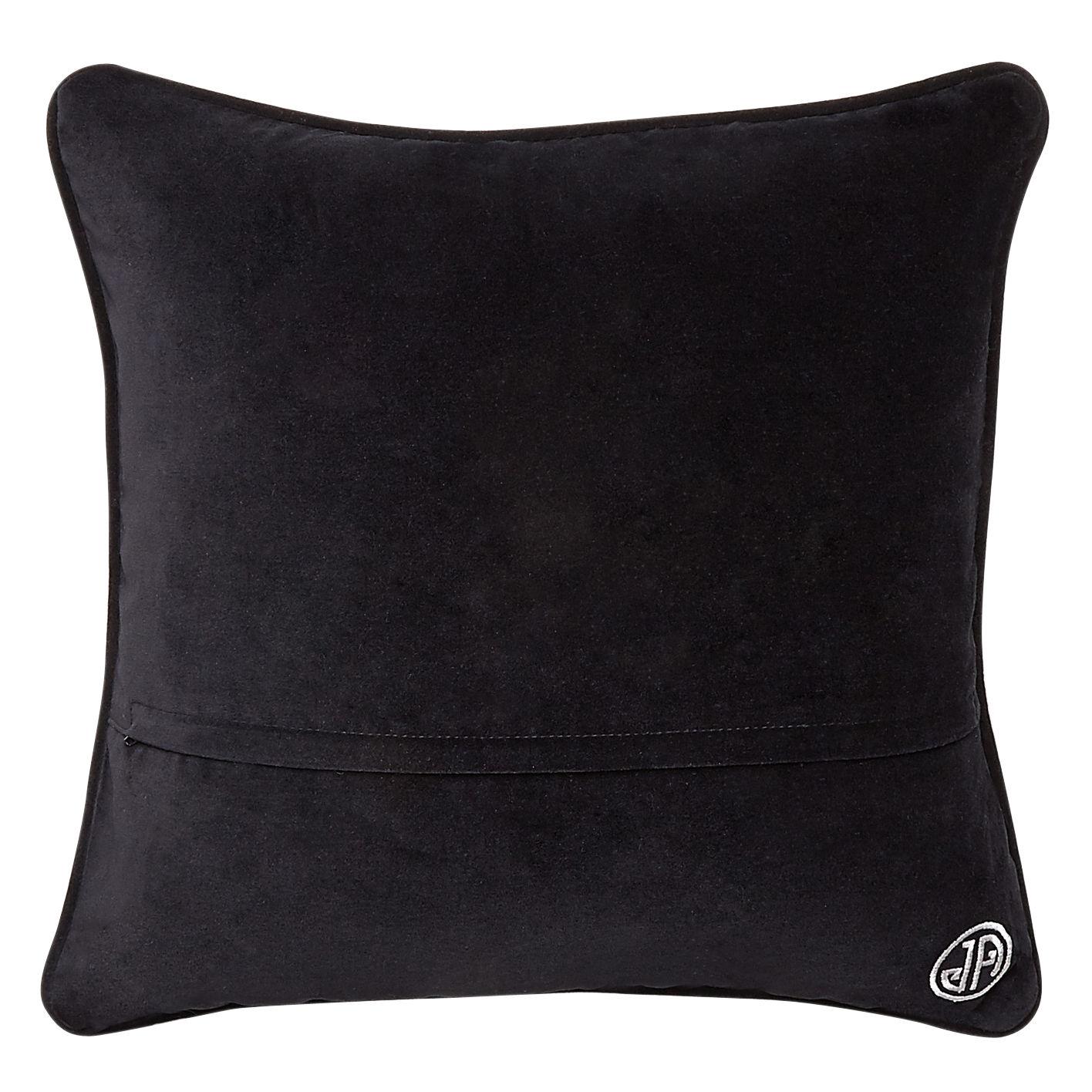 kissen 30 5 x 30 5 cm schwarz und wei by jonathan adler made in design. Black Bedroom Furniture Sets. Home Design Ideas