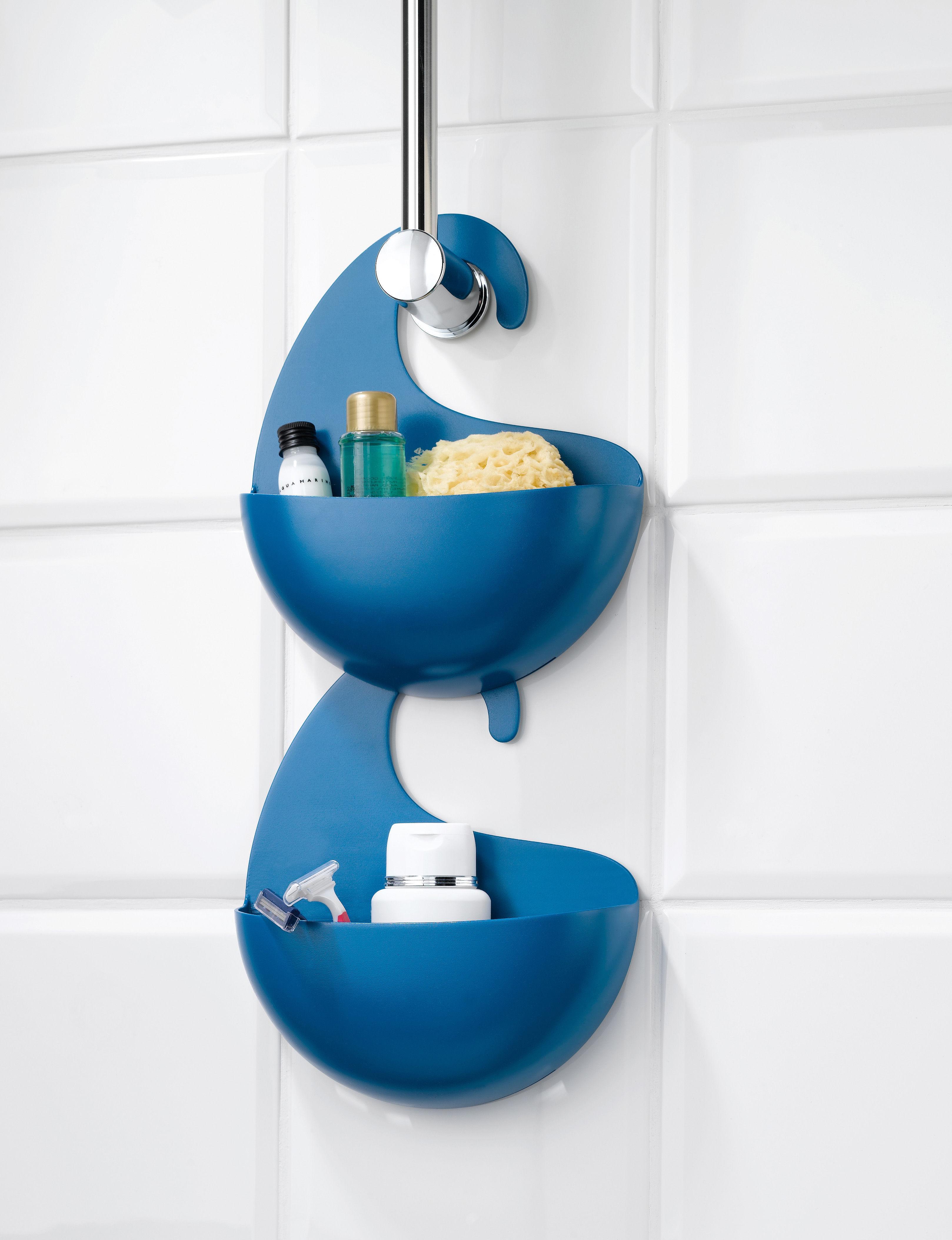 Scopri vaschetta portaoggetti surf da appendere di koziol made in design italia - Accessori doccia portaoggetti ...