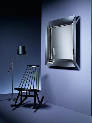 Caadre mirror silver by fiam - Specchio philippe starck ...