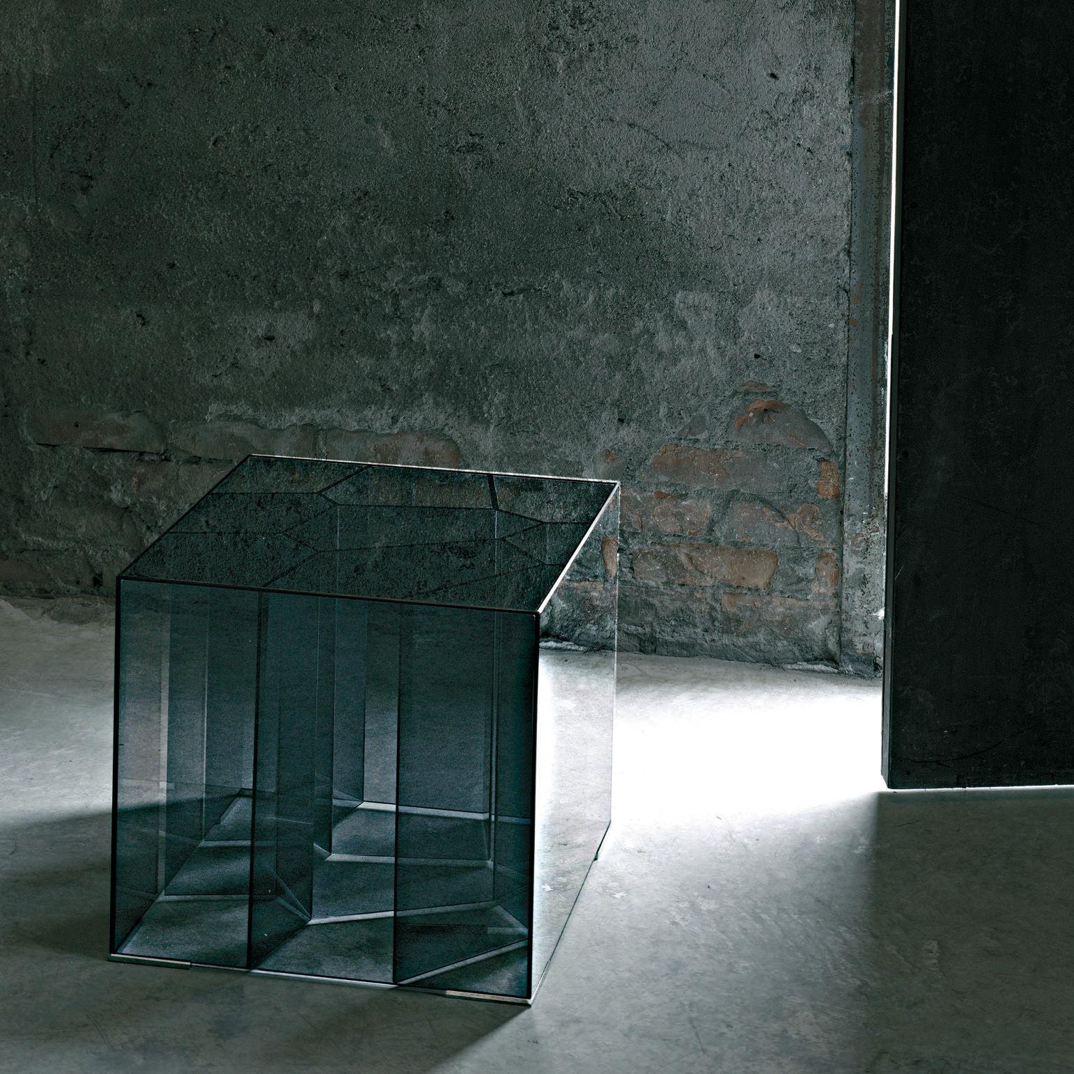 Alice 50 x 50 cm glas italia couchtisch for Couchtisch glas 50 cm hoch