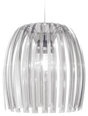 Lighting - Pendant Lighting - Josephine XL Pendant - / Ø 50  x H 47,5 cm by Koziol - Transparent cristal - Polystirol