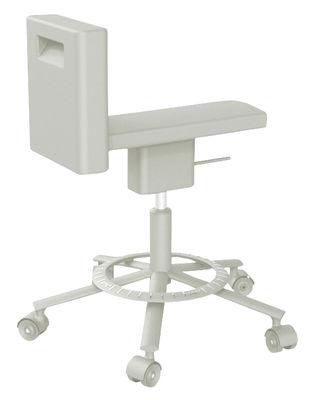 Image of 360° Chair Stuhl mit Rollen Rollen - Magis - Grau