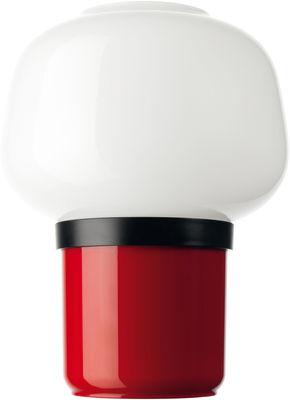 Lampe de table Doll / H 22 cm - Foscarini rouge en verre