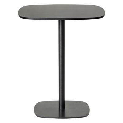 Scopri tavolo bar alto nobis h 110 cm 60x60 cm nero di for Tavoli alti design
