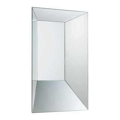 Leon battista mirror 50 x 70 cm 50 x 70 cm by glas italia for Miroir 70x70