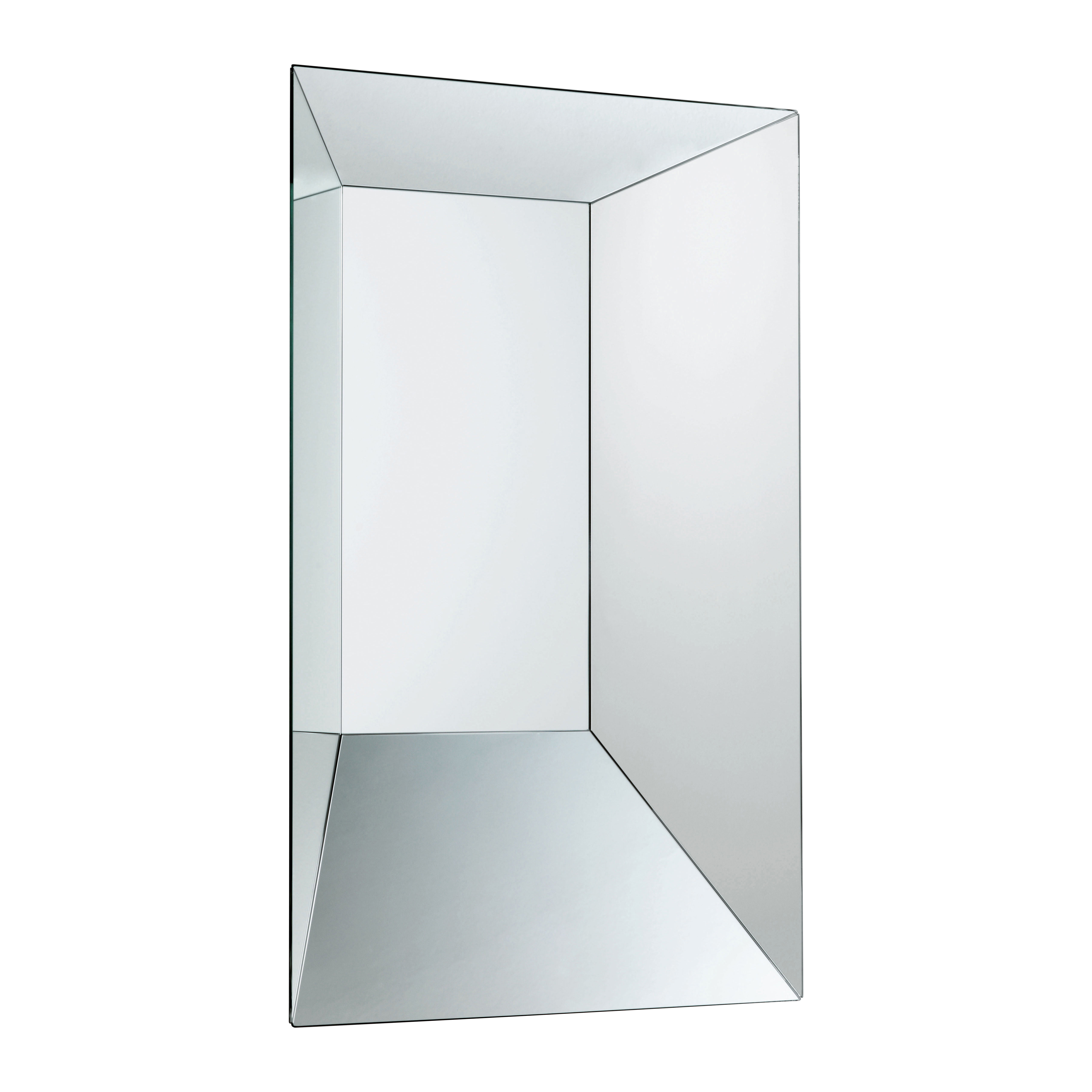 Leon battista wall mirror 50 x 70 cm 50 x 70 cm by glas for Miroir 70 x 70