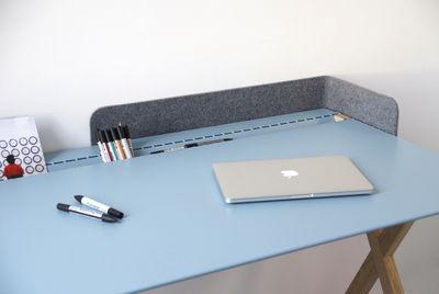 Scrivania Ufficio Blu : Recto verso d scrivania blu by linadura made in design