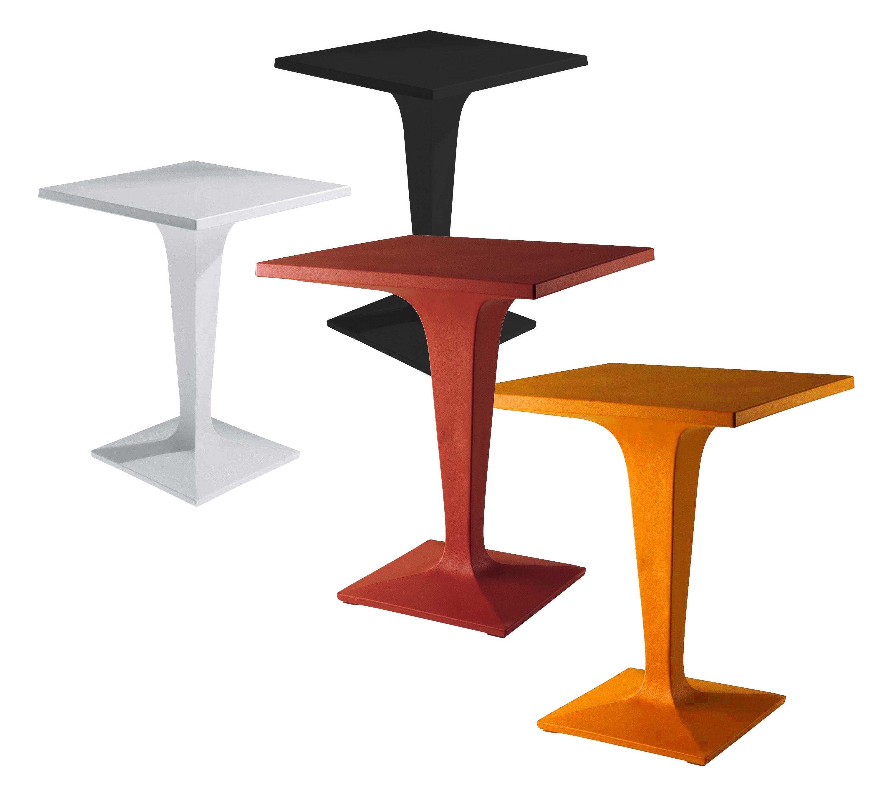 Scopri tavolo da giardino toy rosso di driade made in for Cie 85 table 4
