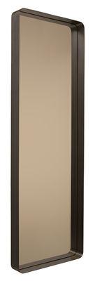 Miroir Cypris /à poser ou suspendre - 60 x 180 cm - ClassiCon bronze,brun en métal