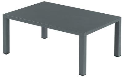 Table basse Round / Méta l - 70 x 100 cm - Emu fer ancien en métal