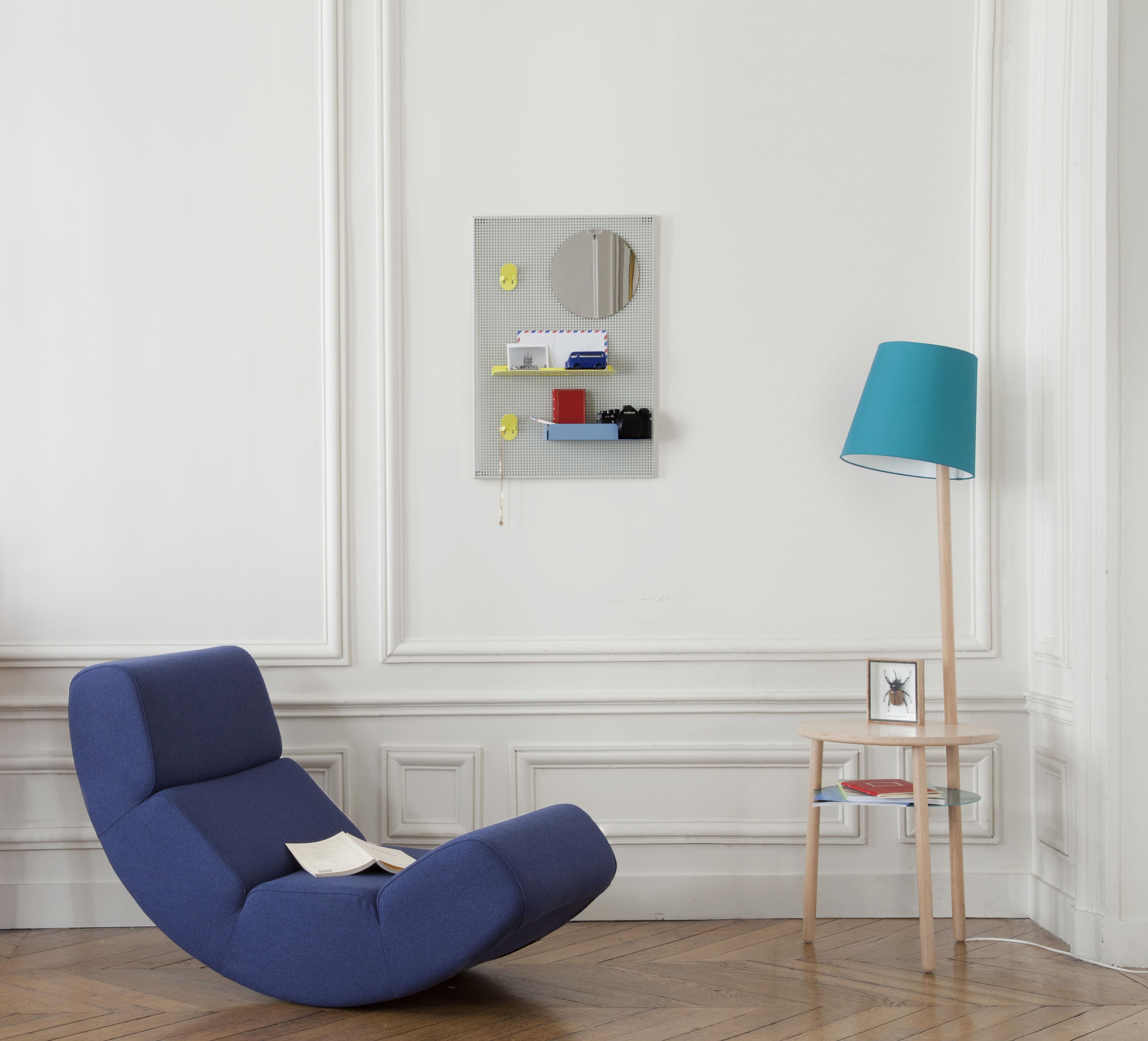 Alfred portaoggetti da parete 65 x 45 cm grigio scuro - Portaoggetti da parete ...