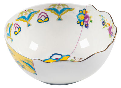 Saladier Hybrid - Bauci Ø 19,4 cm - Seletti multicolore en céramique