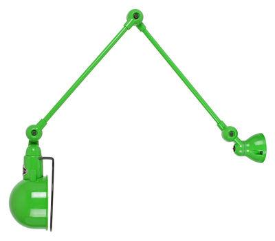 applique signal 2 bras l max 60 cm vert pomme brillant jield. Black Bedroom Furniture Sets. Home Design Ideas