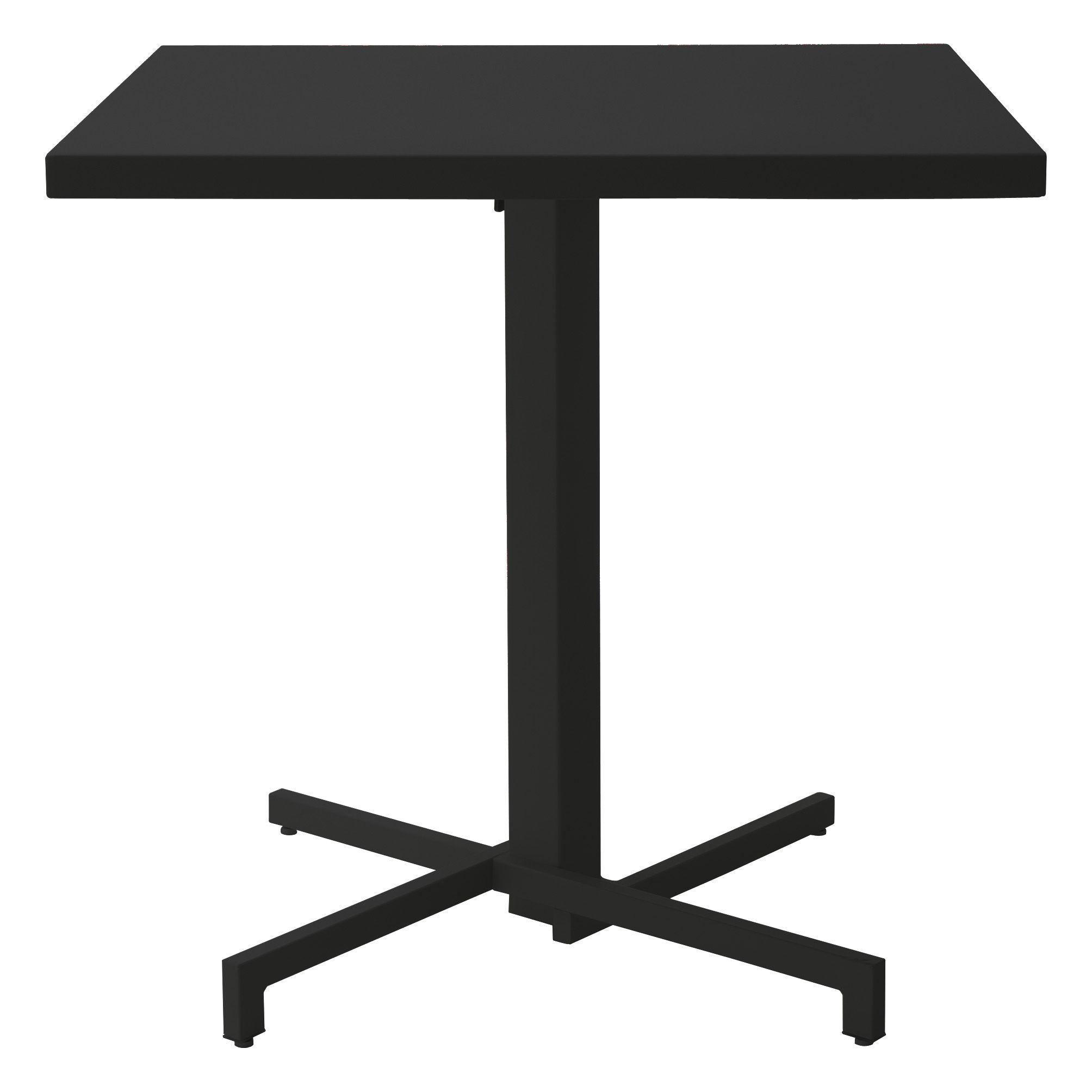 Table pliante mia 75 x 75 cm noir emu for Table pliante design