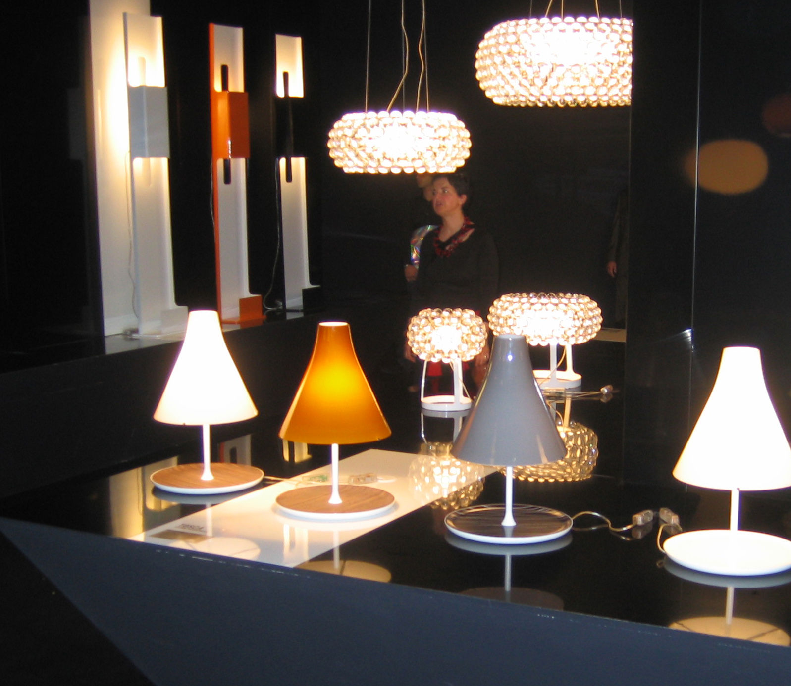 lampe de table caboche piccola 31 cm transparent foscarini. Black Bedroom Furniture Sets. Home Design Ideas