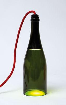 lampe de table bouteille torche vert bouteille l 39 atelier du vin. Black Bedroom Furniture Sets. Home Design Ideas
