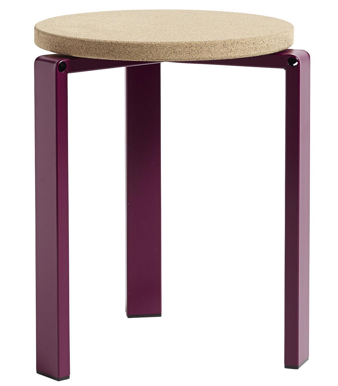 tabouret empilable stanley h 44 cm li ge et m tal. Black Bedroom Furniture Sets. Home Design Ideas