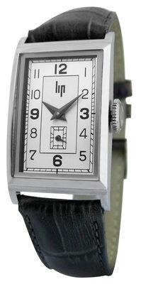 Accessoires - Montres - Montre T18 Churchill réédition 1935 - Lip - Chromé / Bracelet cuir noir - Cuir