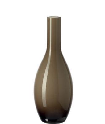 Vase Beauty / H 18 cm - Leonardo beige en verre