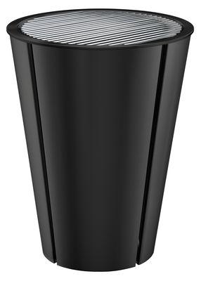 Barbecue à gaz Ø 59 cm / Avec 2 couvercles : dôme avec thermomètre & plat - Eva Solo noir en métal