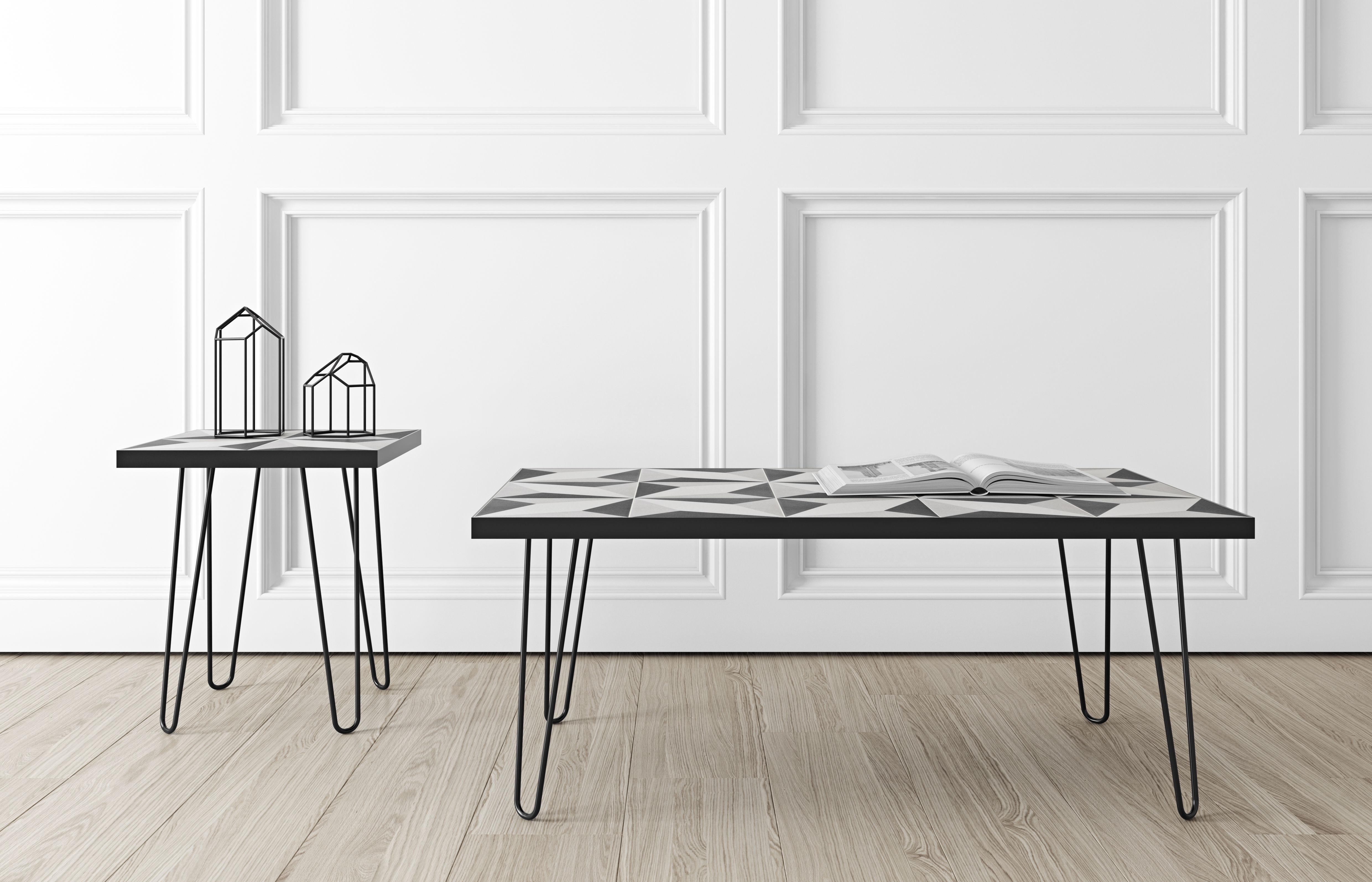 lisbonne keramik fliesen 100 x 60 cm pop up home couchtisch. Black Bedroom Furniture Sets. Home Design Ideas