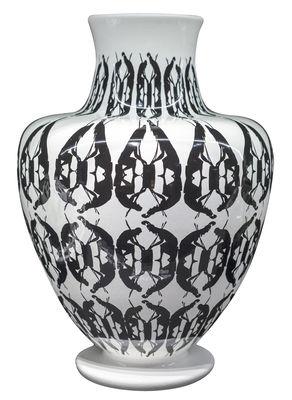 Déco - Vases - Vase Greeky / Ø 30 x H 43 cm - Fait main - Driade - Noir & blanc - Céramique peinte