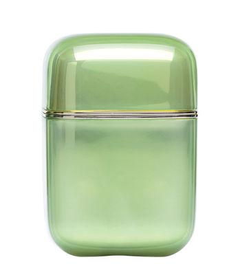 Foto Candela profumata Oyster / H 19 cm - 100 ore - Kartell Fragrances - Blu - Materiale plastico