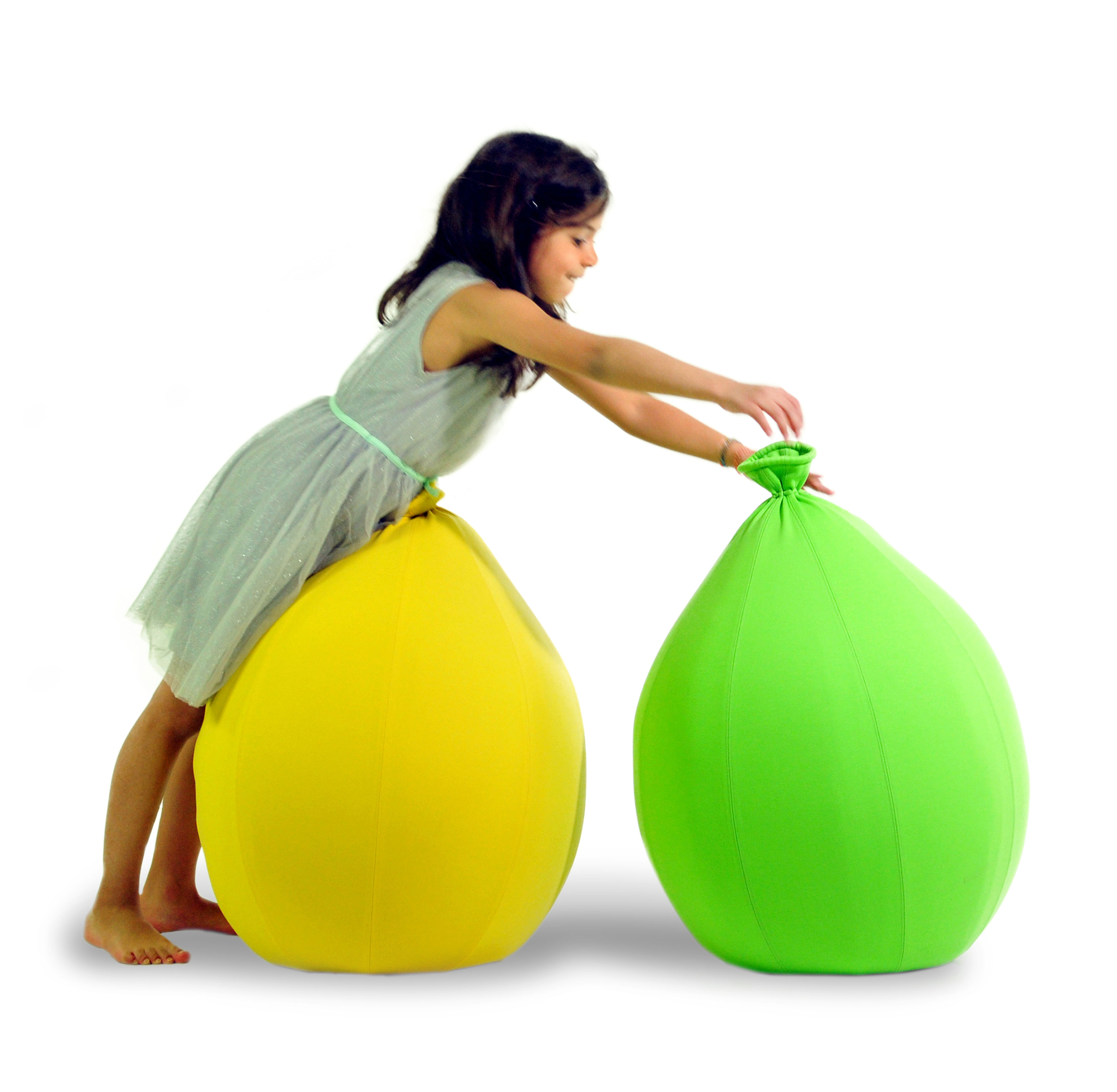 Pouf Baloon Small H 70 cm Jaune YOUNOW