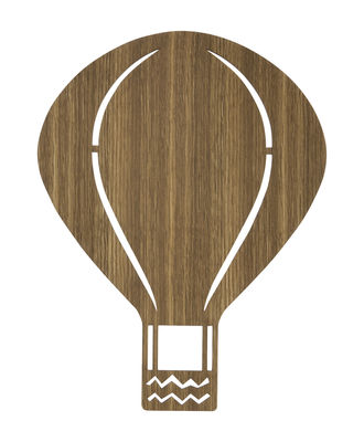Luminaire - Appliques - Applique avec prise Air Balloon - Ferm Living - Chêne fumé - Chêne
