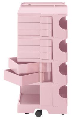 Desserte Boby / H 94 cm - 8 tiroirs - B-LINE rose pâle en matière plastique