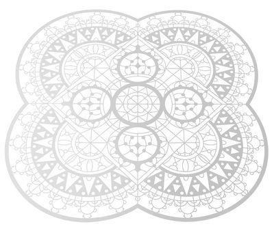 Dessous de plat Petal Italic Lace / 33 x 33 cm - Dessous de plat - Driade Kosmo blanc en métal