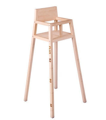 chaise enfant highchair modulable bois de pin droog. Black Bedroom Furniture Sets. Home Design Ideas